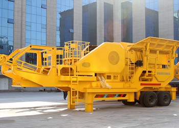 Wheel-mounted Mobile Crusher